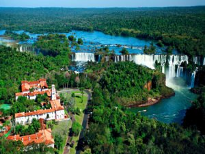 Aerial View and Falls Excursions
