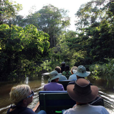 Napo-Wildlife-Lodge---Heading-deeper-into-the-jungle