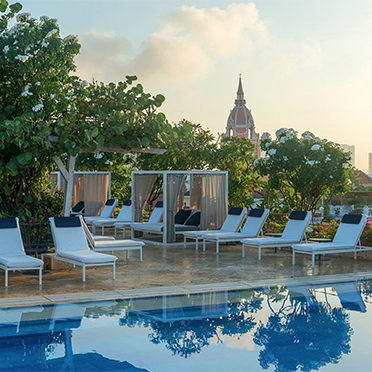 cartagena hotels with pools