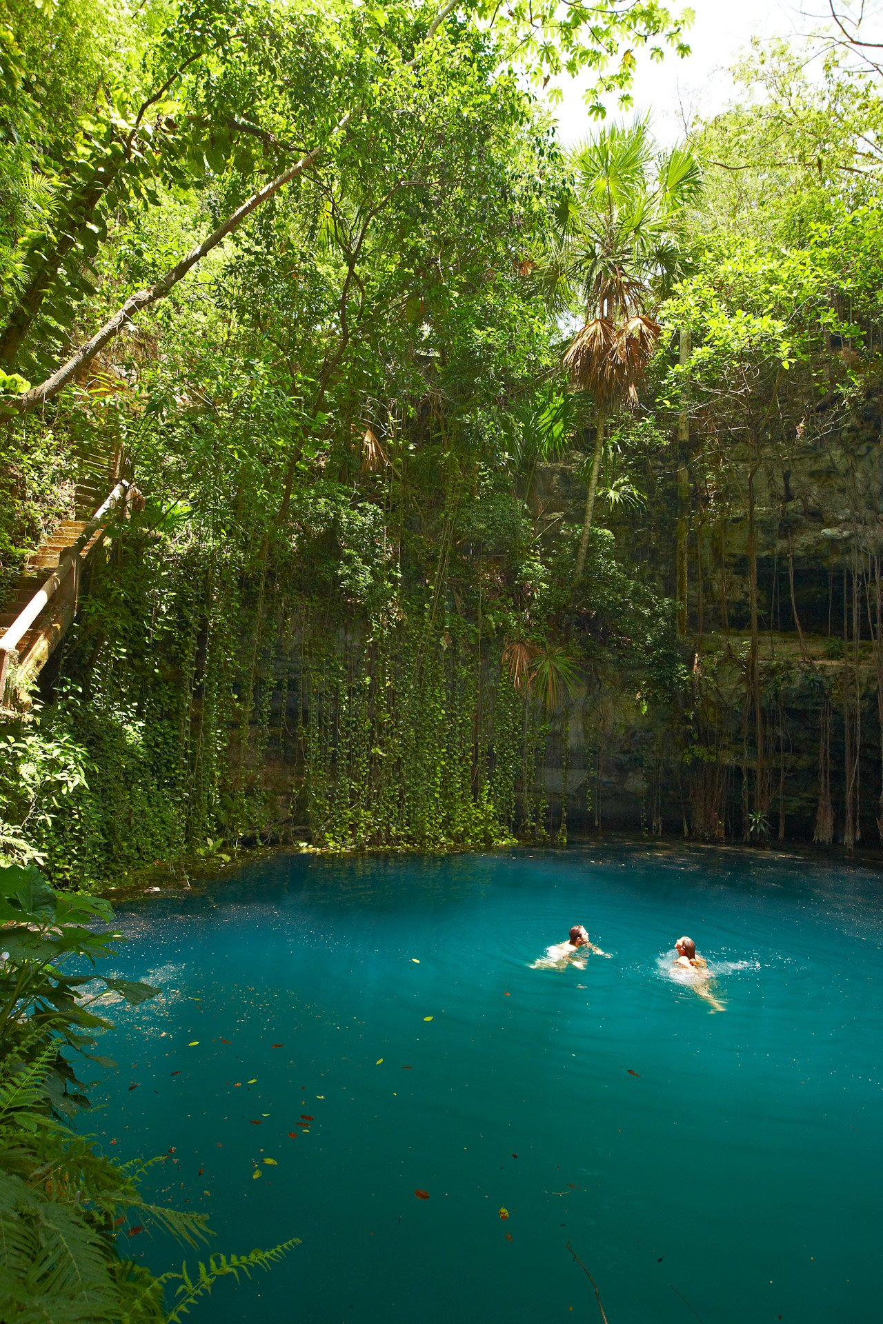explore a cenote in mexico