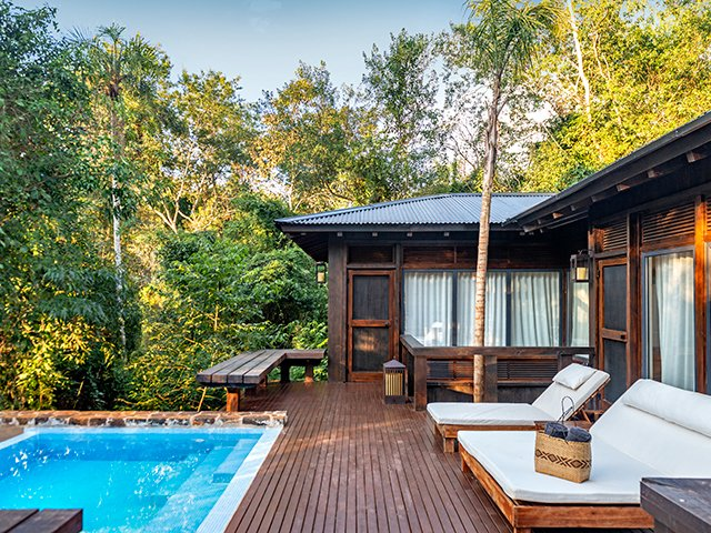 Plunge Pool and Villa