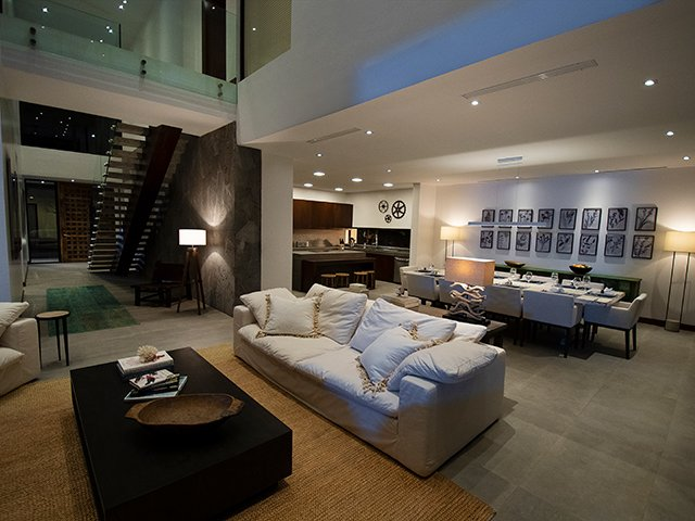 La Nina House Living Area