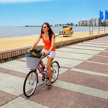 bike tour montevideo